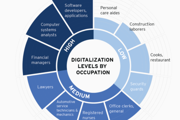 Digitalization and the American workforce
