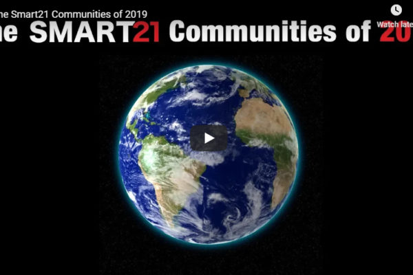 Hudson and Westerville Named 2019 Smart21 Communities